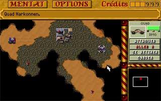 Aperçu du jeu Dune 2