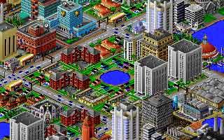 Aperçu du jeu Sim City 2000